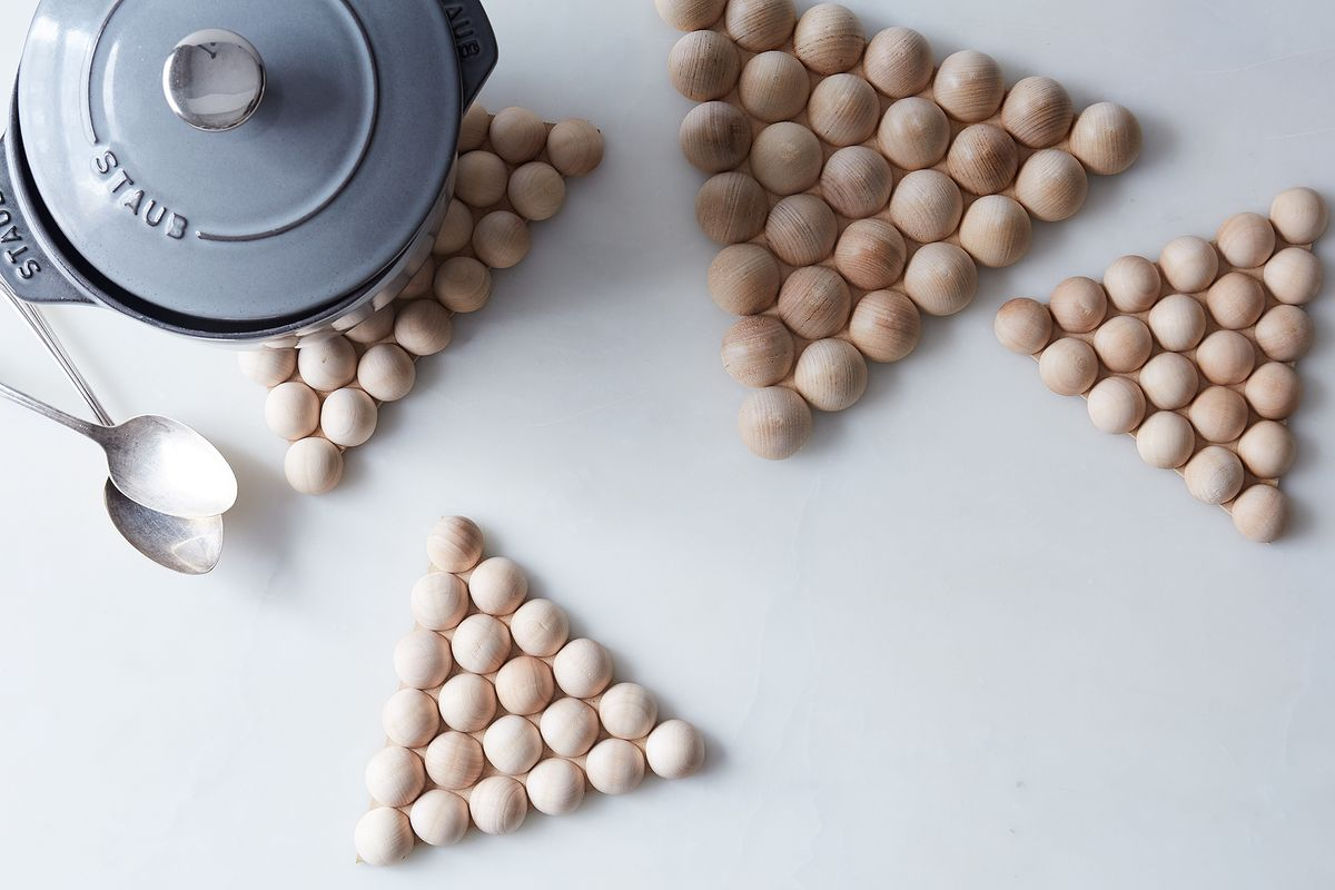 Diy These Wooden Trivets Without Tools To Gift To