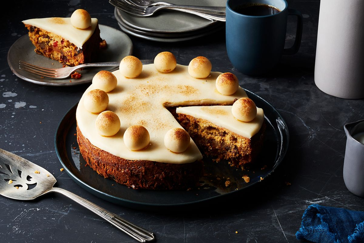 Good Food Simnel Cake Recipe