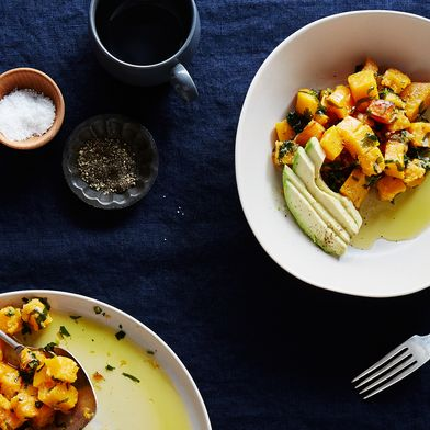 Ginger-Marinated Butternut Squash