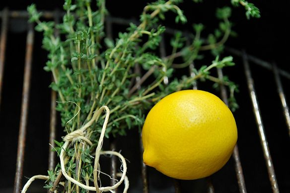 Your Best Use of Lemon, Thyme and a Grill