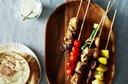 Shish Taouk with Toum (Chicken Kebabs with Garlic Sauce)
