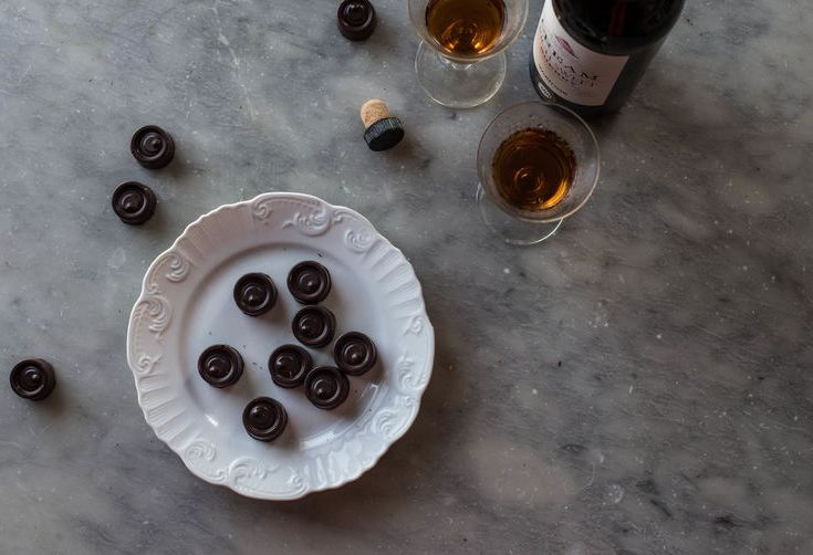 Homemade Italian Coffee-Filled Chocolates