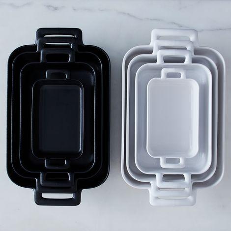 Porcelain Rectangular Roasting Dishes