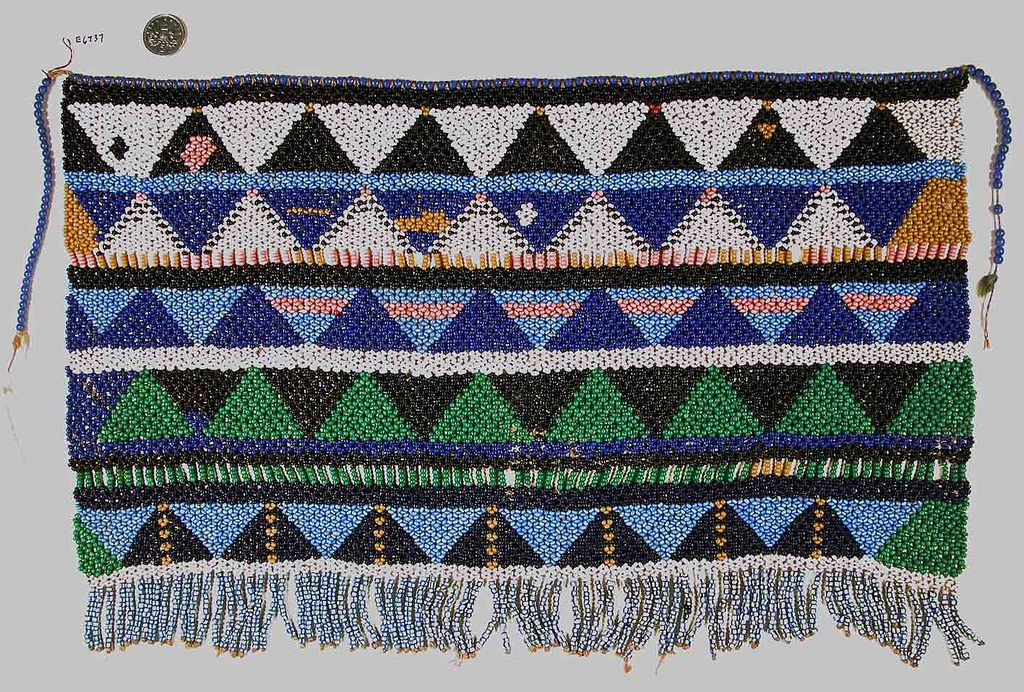 South African Beaded Apron