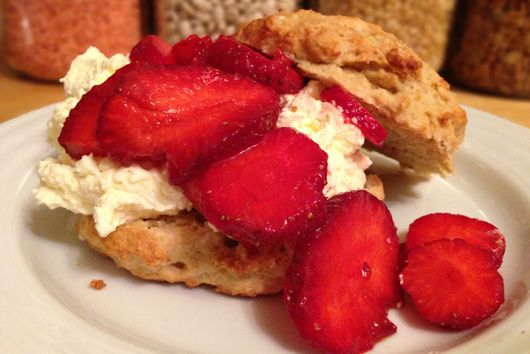 Not So Sweet Strawberry Shortcake