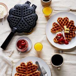 Stovetop Sweetheart Waffle Iron