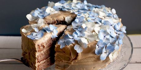 And slathered in a bourbon-spiked frosting