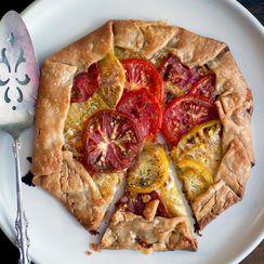 Tomato Cheddar Galette