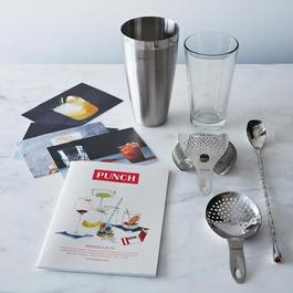 Modern Mixologist Kit with Food52 Cocktail Recipe Cards and Punch Magazine