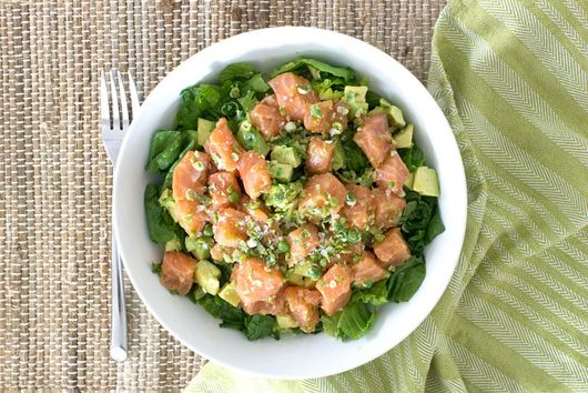 Raw Salmon Bowl