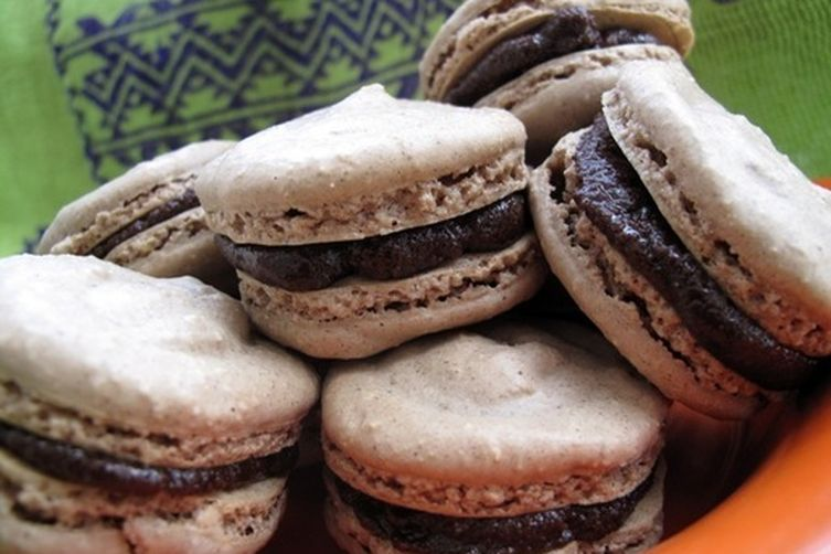 Oaxacan Cinnamon Chocolate Macaroons Recipe on Food52
