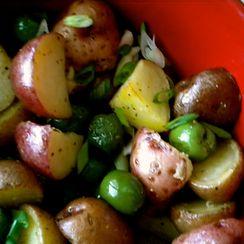 Italian Roasted Potato Salad