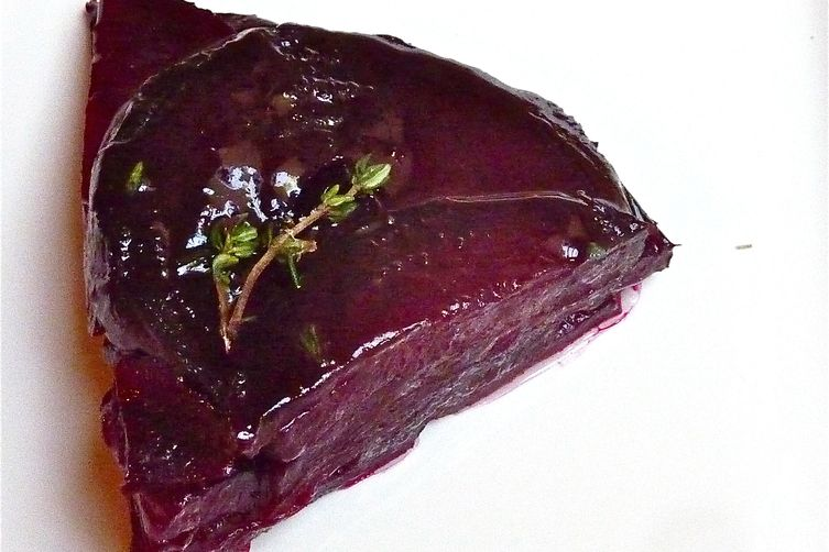 Beets Anna with Maple Butter