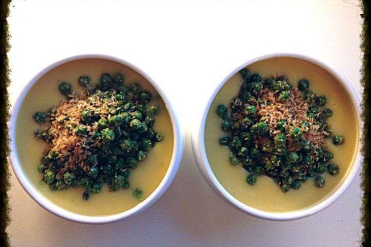 Heavenly Delicious Sweet Potato & Lime soup