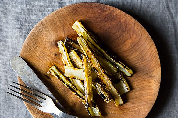 Grill Swiss Chard Stems