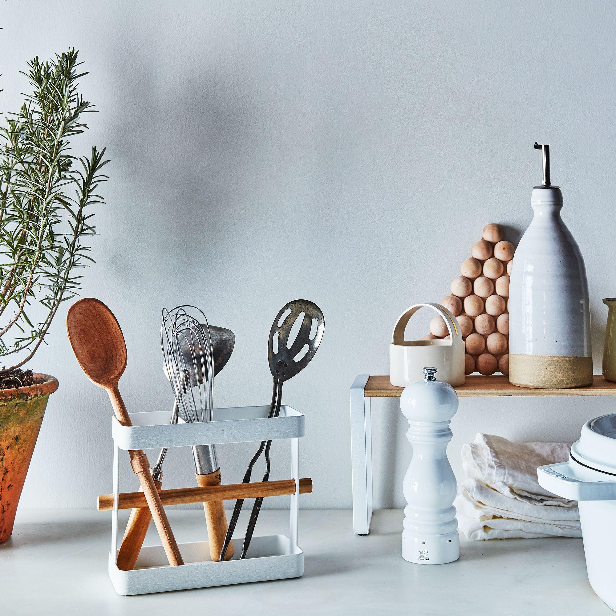 Steel & Wood Kitchen Tool Stand on Food52