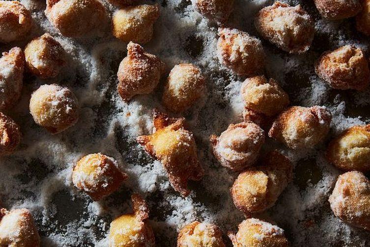Castagnole (Italian Doughnuts Rolled in Sugar)