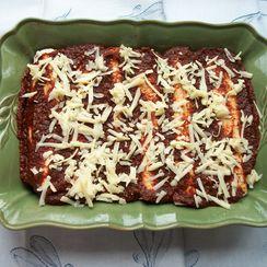 Sweet Potato, Chard, and Mushroom Enchiladas