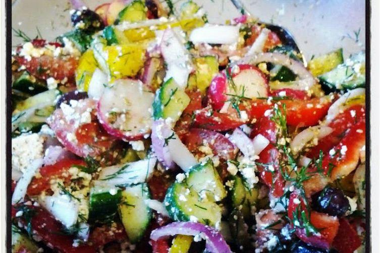 Socky's Greek Salad