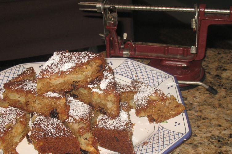 Stealth Health Apple Cake