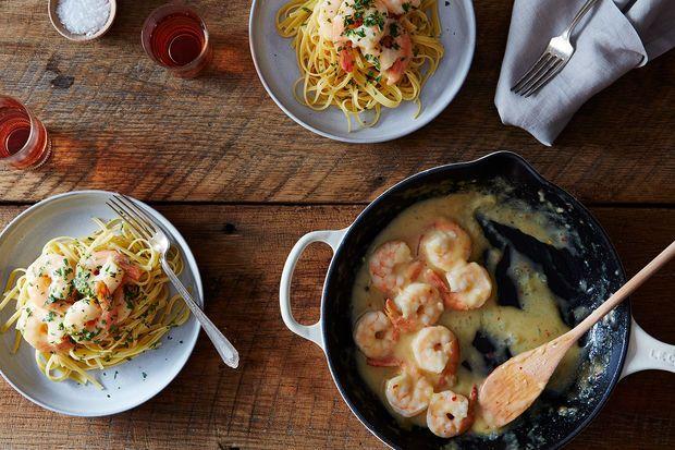 ... Your Best Recipe for the Shore—Spiced Shrimp in Lemon-Ginger Sauce