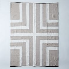 Handcrafted Throw Quilt