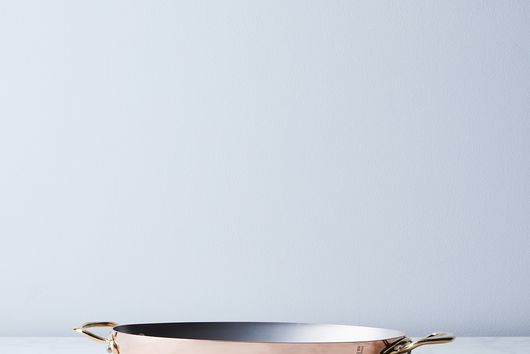 Mauviel M150B Copper Oval Pan with Bronze Handles