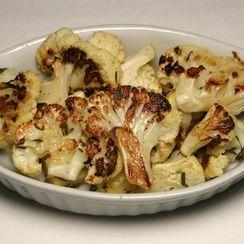 Roasted Cauliflower and apple