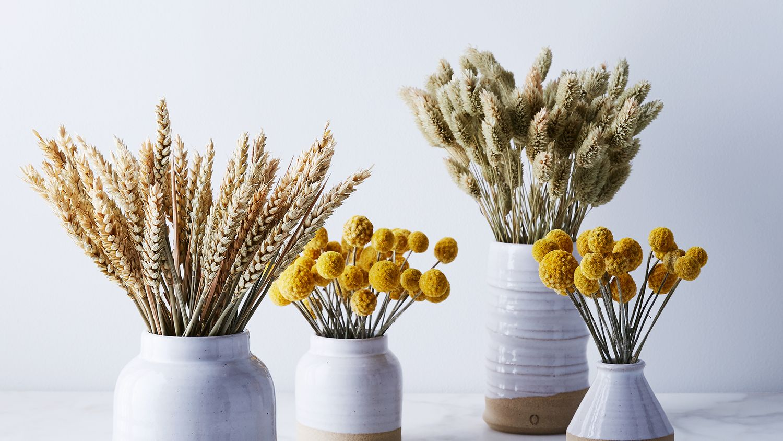 Handmade Ceramic Vase Dried Floral Arrangement On Food52