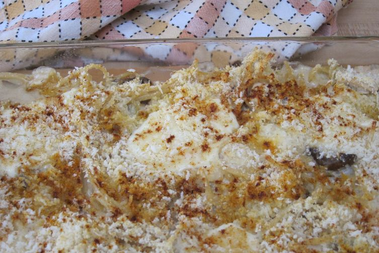 Dad's Day Turkey Tetrazzini