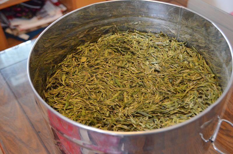 Longjing green tea retails as high as $145.