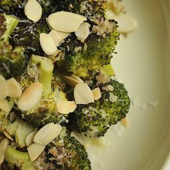 Roasted Bagna Cauda Broccoli