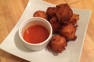 Apple and Cheddar Cheese Hush Puppies Recipe on Food52