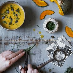 A Taste Of Autumn With A Bowl Of Velvet Pumpkin Cream