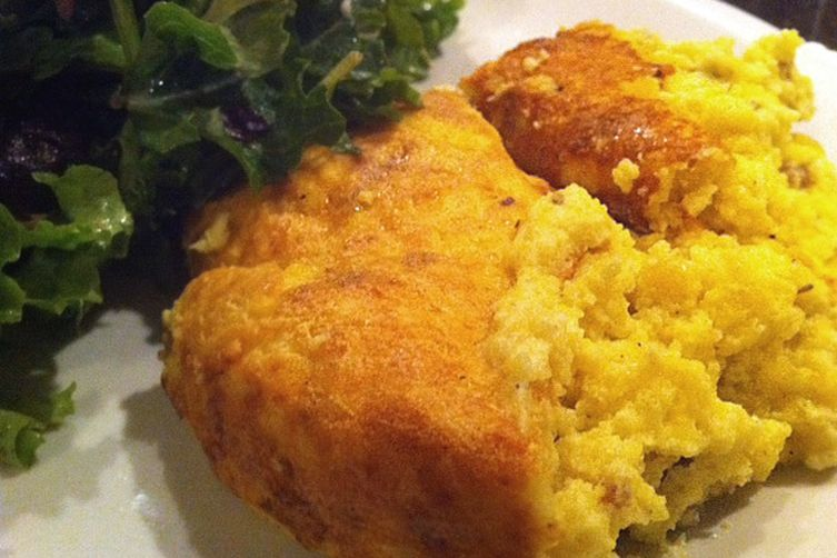 Ricotta Spoon Bread