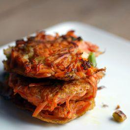 F6e43af2 e4ea 4531 bcbc cb92ddd6614a  carrot scallion latkes gluten free recipe