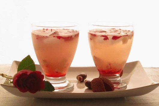 Lychee and Rose Cooler