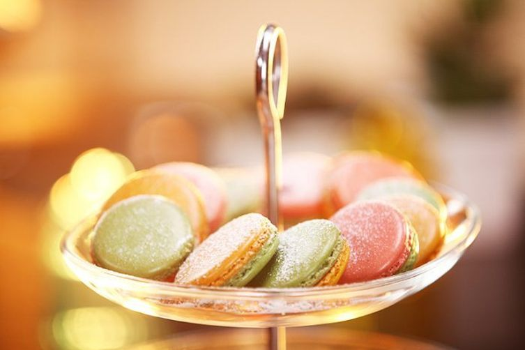 Thandai Macarons For Holi