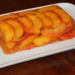 Peaches and Cava Terrine