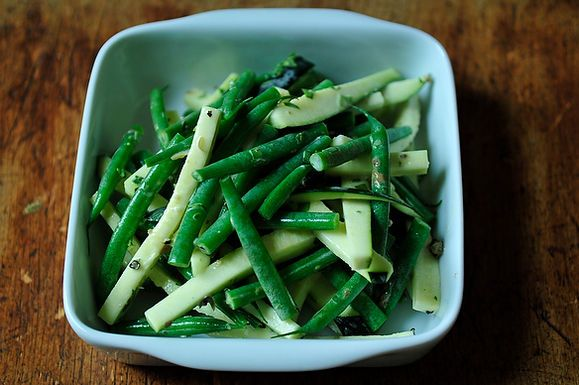 Green Bean Salad with Tarragon and Green Peppercorn