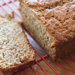 Maple Bourbon Banana Bread