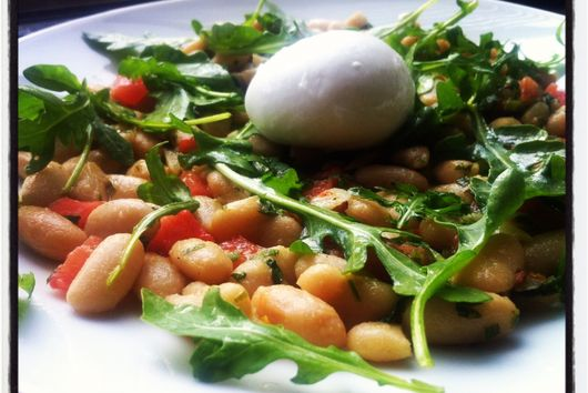 Warm Cannellini Bean Salad with Colatura Alici