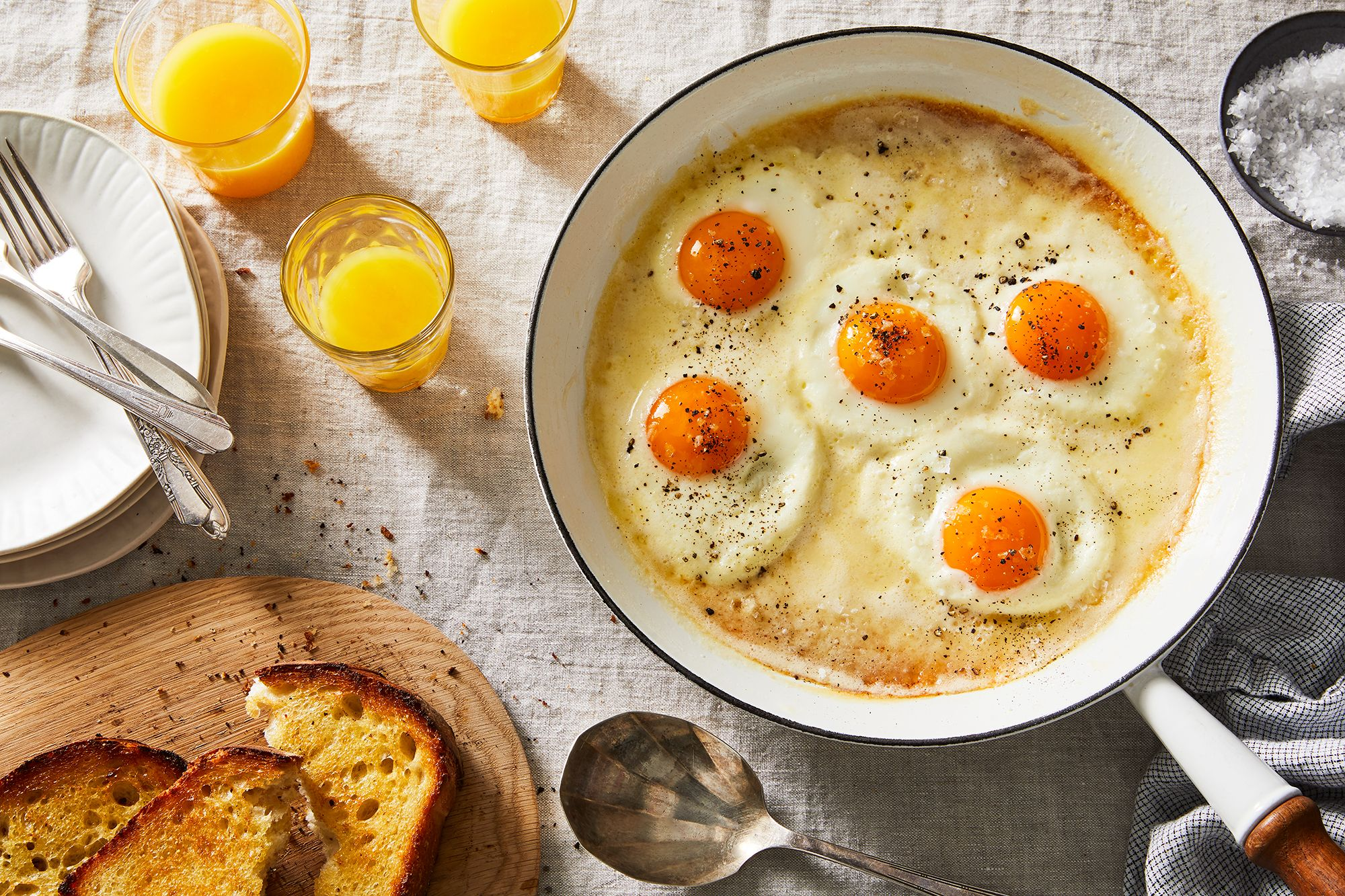This Genius Trick Will Change How You Fry Eggs