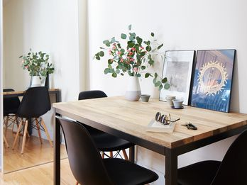 10 Ways To Make a Tiny Apartment Feel Bigger & Cozier