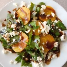 Coffee Glazed Golden Beet Salad