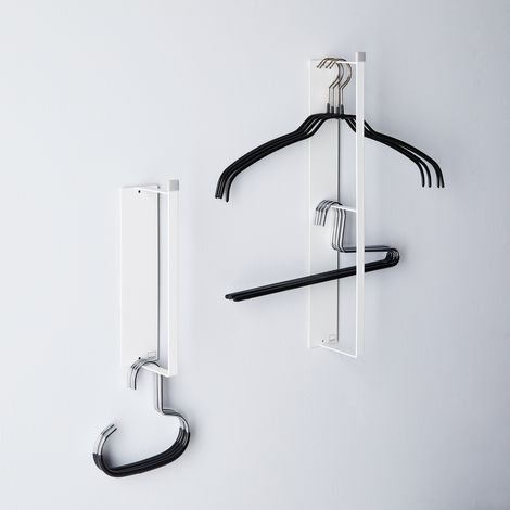 Magnetic Hanger Storage Rack