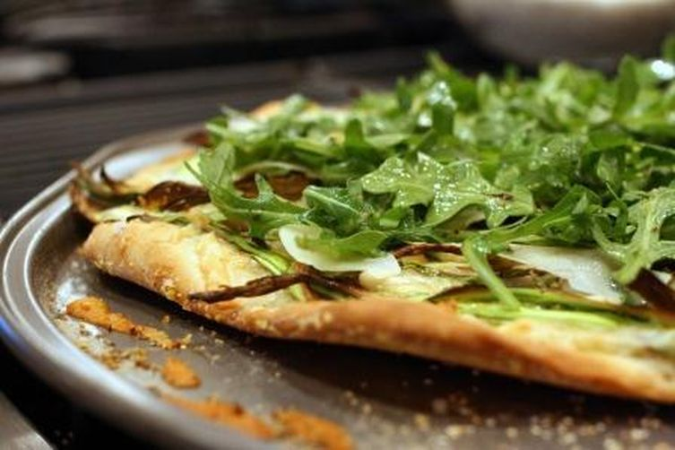 Shaved Asparagus Pizza Recipe on Food52