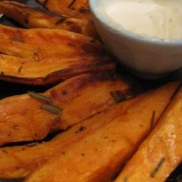 Rosemary Sweet Potato JoJos