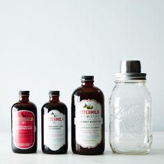 Cocktail Syrups & Shaker Gift Set