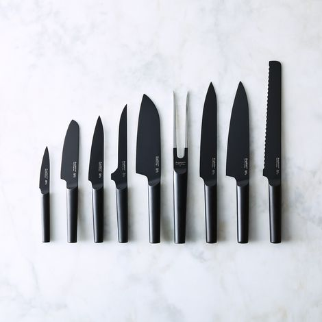 Modern Matte Black Knife Collection